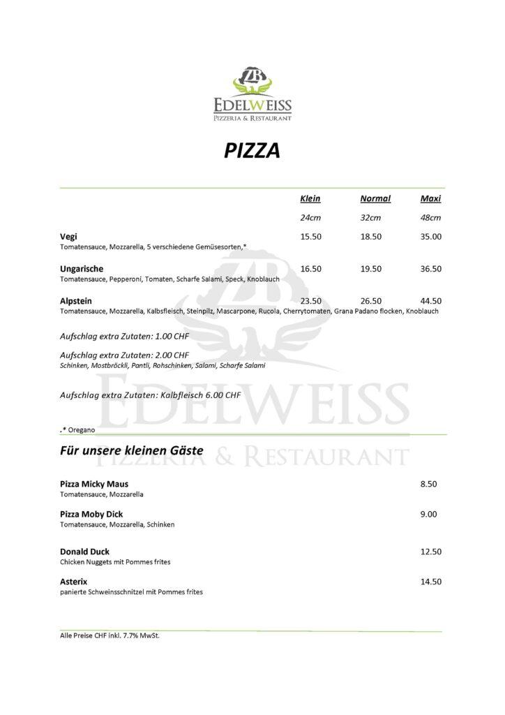 Edelweiss-Pizzeria-Restaurant-Speisekarte-Pizza-3