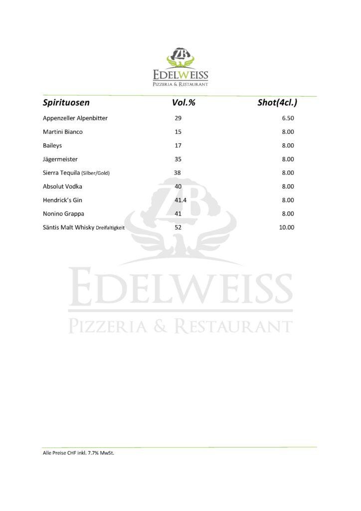 Edelweiss-Pizzeria-Restaurant-Speisekarte-Spirituosen